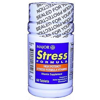 Major stress formula, vitamin supplement, tablets, 60 ea