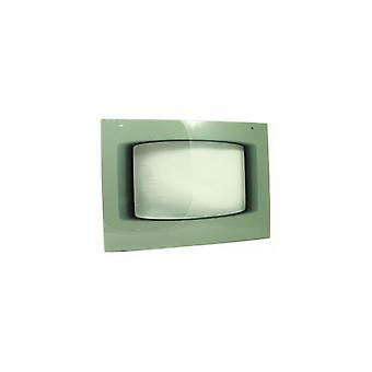 Parkinson Cowan Main Oven Outer Door Assembly - Features Silver Finish trim