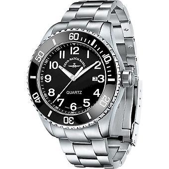 Zeno-Watch - Rannekello - Miehet - Diver 6492-515Q-a1-1M