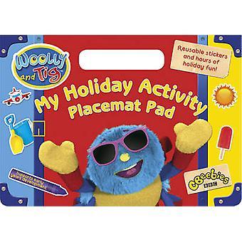Wollig en TIG-mijn vakantie activiteit placemat pad-9780857513779 boek