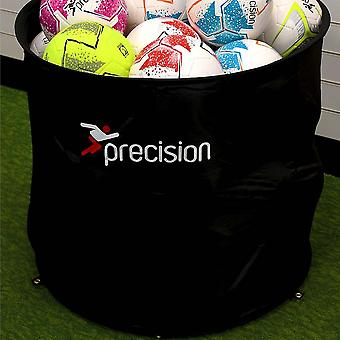 Precision Football Soccer Sports Ball Bin Black POS/On Field - 80 x 75cm