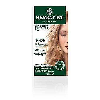 Herbatint 10DR Copperish Light Gold (150 ml)