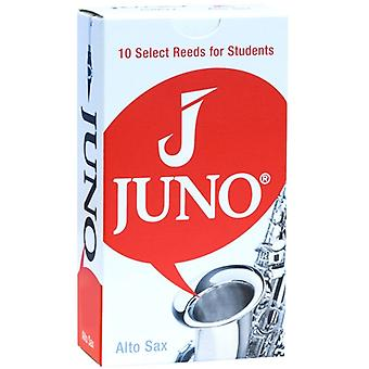 Vandoren Juno Pack of 10 Alto Sax Reeds in Strength 2