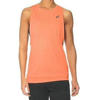Herren's Ärmelloses T-shirt Asics Gpx Lose Slvless Orange/S