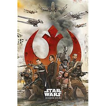 Star Wars Rogue One Rebels Maxi Juliste