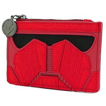 Loungefly Star Wars Red Sith Card Holder