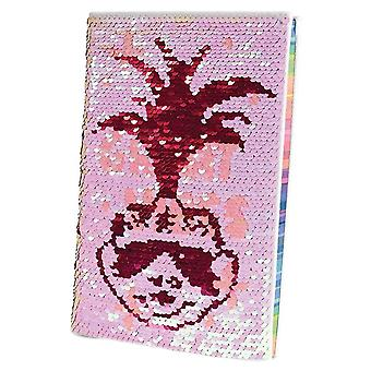 Trolls World Tour Poppy Sequin Flip A5 Notebook