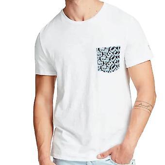 Guess T-paita CN painettu taskupaita M0GI68K6XN0
