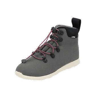 Native Ap apex junior Kinder Jungen Stiefel Grau Schnür-Stiefelette Winter