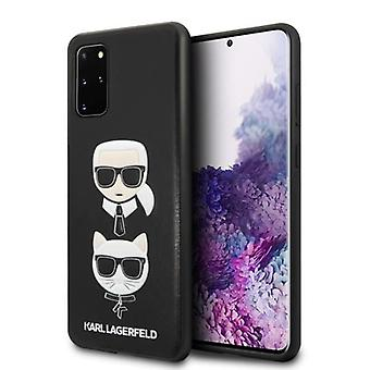 KARL LAGERFELD Karl & Choupette Backcover Case Samsung Galaxy S20 Plus - Schwarz