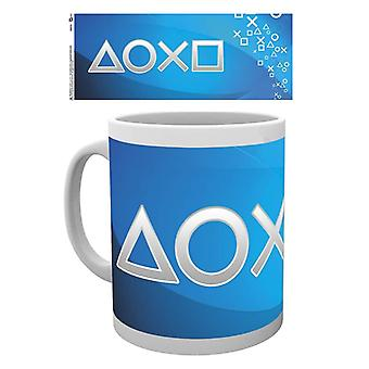 Playstation Silver Buttons Mok