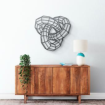 Metal Wall Art - Knot Geometrical
