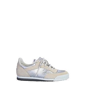 Comme Des Garçons Shirt S286003 Men's White Leather Sneakers