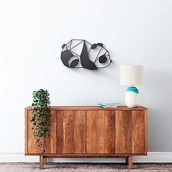 Metallwandkunst - Panda #2