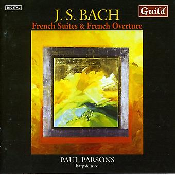 Bach - J.S. Bach: French Suites & French Overture [CD] USA import