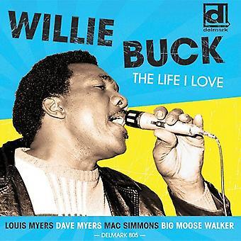 Willie Buck - vida amor [CD] USA importar