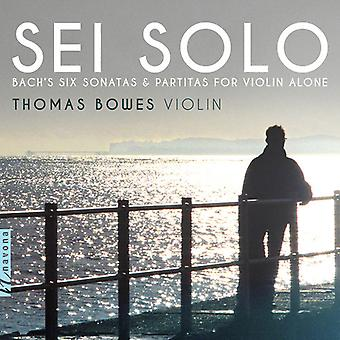 Bach, J.S. / Bowes - Sei Solo [CD] USA import