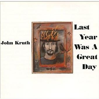 John Kruth - Last Year Was a Great Day [CD] USA import