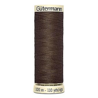 Gutermann sy-alle 100% polyestertråd 100m Hånd- og maskinfarvekode - 222