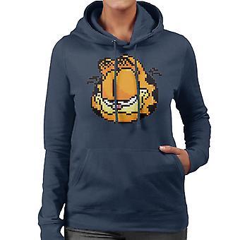 Garfield pixelated Smile kvinnor ' s Huvtröja