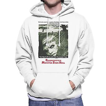 Hammer Horror Films Frankenstein Soul From Hell Men's Hooded Sweatshirt
