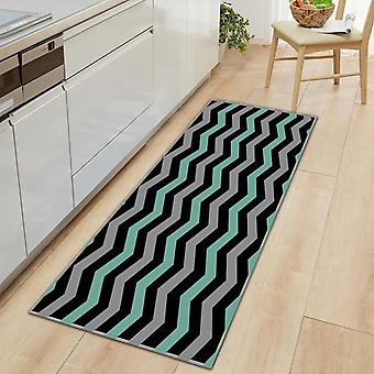 Modern 3d Pattern Long Strip Kitchen Mat - Home Floor Decoration Living Room Carpet Bathroom Non-slip Rug