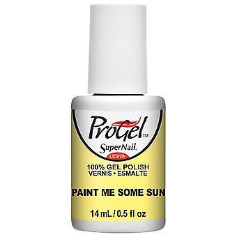 SuperNail ProGel Gel Nail Polish - Paint Me Some Sun 14ml