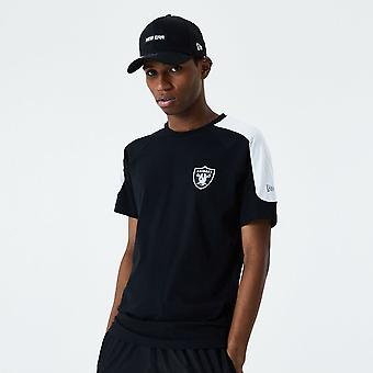 New Era Single Jersey T-paita ~ Las Vegas Raiders