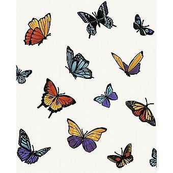 Julien Macdonald ButterBy Pearl Butterfly Glitter Shimmering Wallpaper
