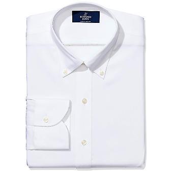 BUTTONED DOWN Men's Slim Fit Bouton-Col non-Fer Robe (Pas de poche), ...