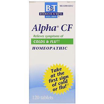 Boericke & Tafel, Alpha CF, 120 Tablets