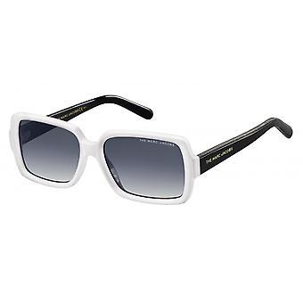 Sunglasses Women rectangular white/black blue/grey