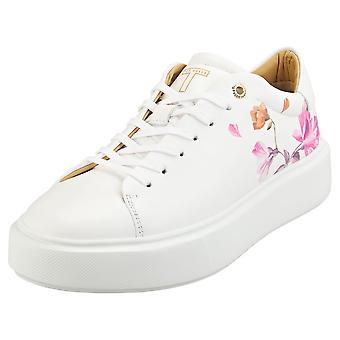 Ted Baker Piixier Womens Fashion Trainers in White