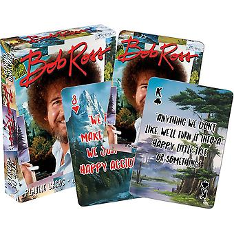 Playing Card - Bob Ross - Quotes Poker 52537