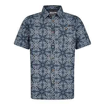 Dawlish kortärmad tryckt skjorta