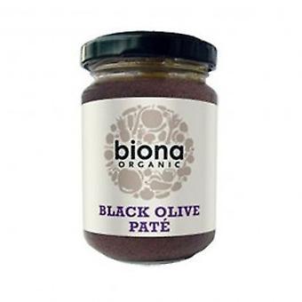 بيونا-بات الزيتون الأسود العضوية 160 غرام