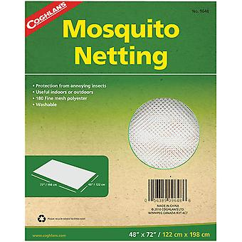 """Coghlan's Mosquito Netting, 48"""" x 72"""", Mesh Polyester Net Protects from Insects"""