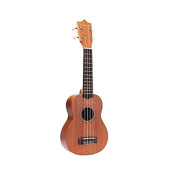 21inch Sapele Ukulele Mini Guitar 4 String Guitar for Beginners