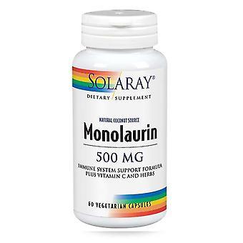 Solaray Monolaurin, 500 mg, 60 czapki