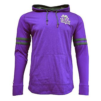 Mitchell & Ness Nba Lightweight Hoody 20 Milwaukee Bucks HDLSAJ19002MBUPURP basketball all year men sweatshirts