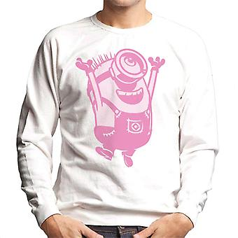 Despicable Me Minion Jumping Men's Sweatshirt