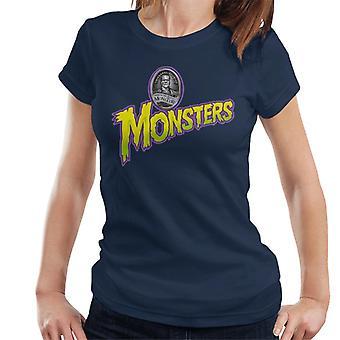 Universal Studios Monsters Home Of The Original Women's T-Shirt