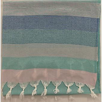 Aqua Perla Estival toalla turca turquesa algodón peshtemal