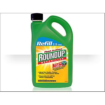 Roundup Fast Action Pump And Go 2.5L Premixed Refill