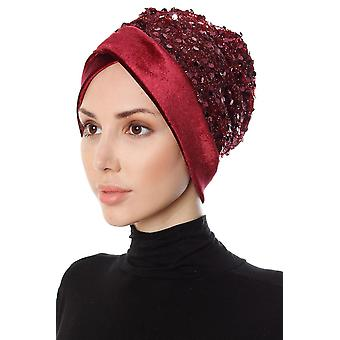 Turban With Sequins