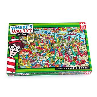 Where's Wally Jigsaw Puzzle Jurassic 100 pieces Age 6+