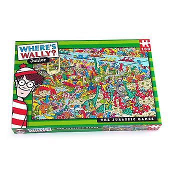 Where's Wally Jigsaw Puzzle Jurassic 100 peças Age 6+