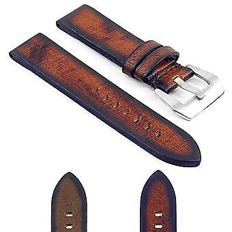 Strapsco dassari riviera tyk vintage italiensk læderrem