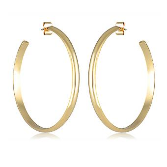 50mm Gold Plated Creole
