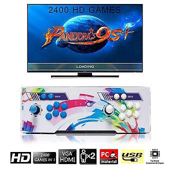 Seekool 2400 arcade video games console, pandora's box 9s+ multiplayer home joystick arcade console,